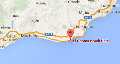 Find El Oceano Hotel on Google Maps