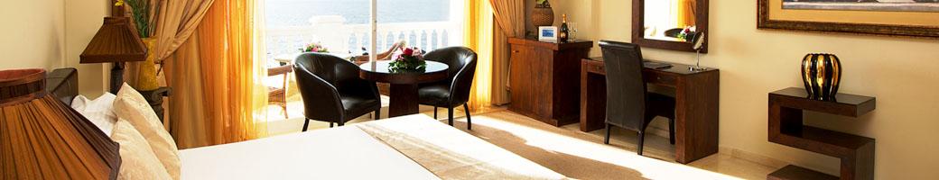 Deluxe Mini Suites - Four Star Accommodation at El Oceano Beachfront Hotel between Marbella and La Cala de Mijas