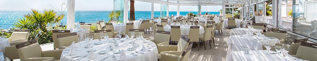 El Oceano Beachfront Restaurant Veranda