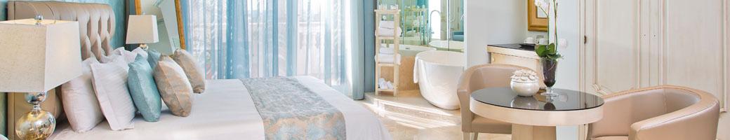 Feature Bath Suites at El Oceano Beach Hotel on Spain's Costa del Sol