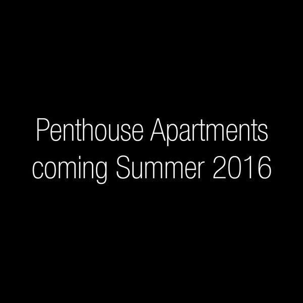 Penthouse Suite - Available Summer 2016