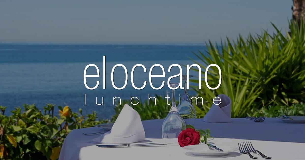 El Oceano Restaurant Menu