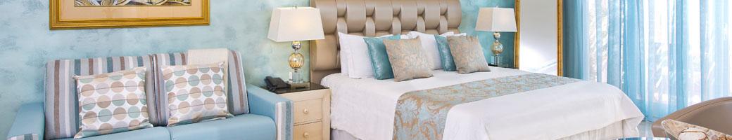 Mini Suite - Hotel Accommodation at el Oceano Hotel, between La Cala de Mijas and Marbella on Spain's Costa del Sol feat