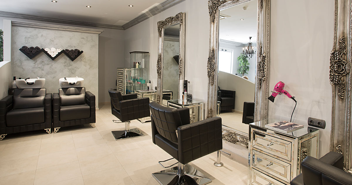 Hair Salon With Private Rooms
