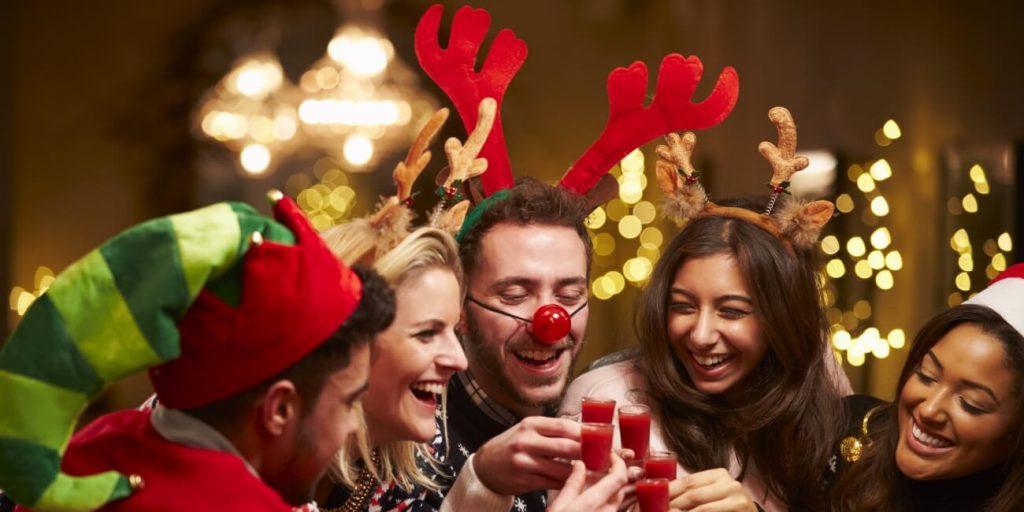christmas party at el oceano hotel